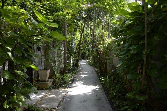 Mövenpick Asara Resort & Spa Hua Hin: Navigating to the Beach from Room