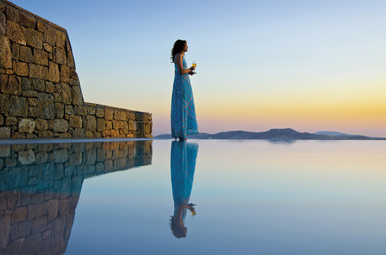 Mykonos Grand Hotel & Resort: View from Private Pool Suite
