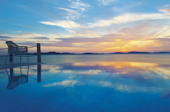 Mykonos Grand Hotel & Resort: Amazing Sunsets