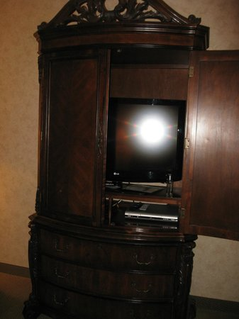 AmishView Inn & Suites: t.v. in room