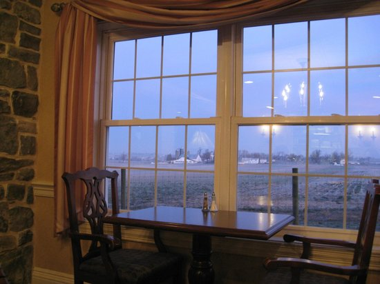 AmishView Inn & Suites: view from dining room