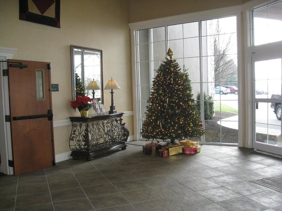 AmishView Inn & Suites: hotel lobby
