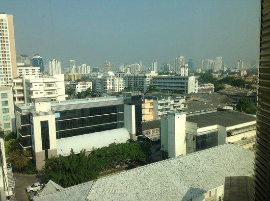Jasmine Resort Hotel: vue de la baignoire