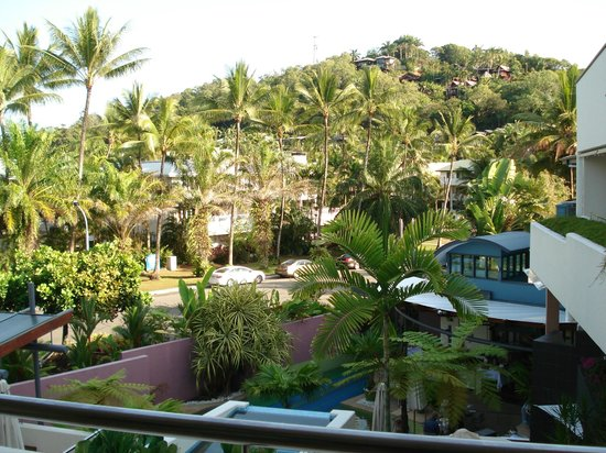 Peninsula Boutique Hotel: View from the balcony
