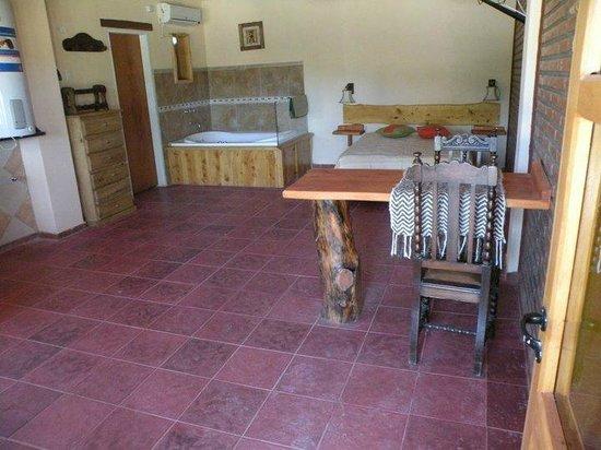 Apart Cabanas Altos de Vaquerias: Habitacion