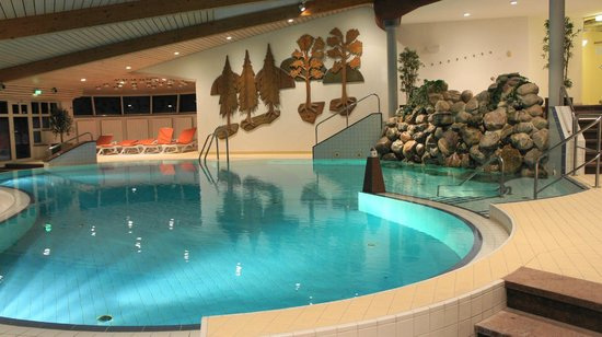 Hotel Jagdhaus Wiese: Der Badebereich