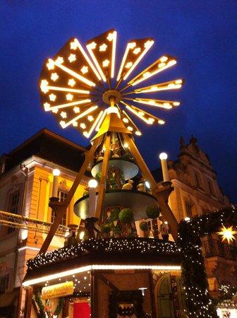 Paulin Hotel: Christmas market