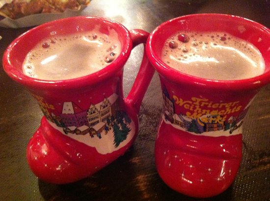 Hotel Paulin: cute gluhwein mugs of Trier