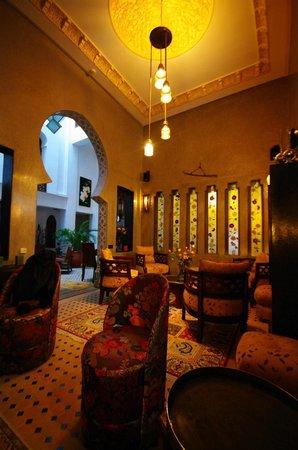 Dar Chams Tanja: The salon