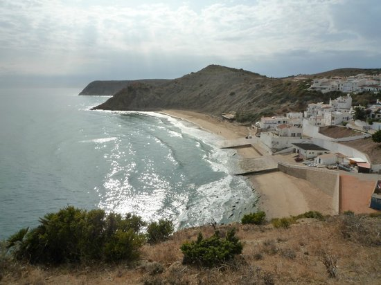 Hotel Praia do Burgau: Burgau beach