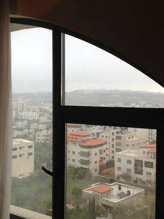 Mövenpick Hotel Ramallah: view from room