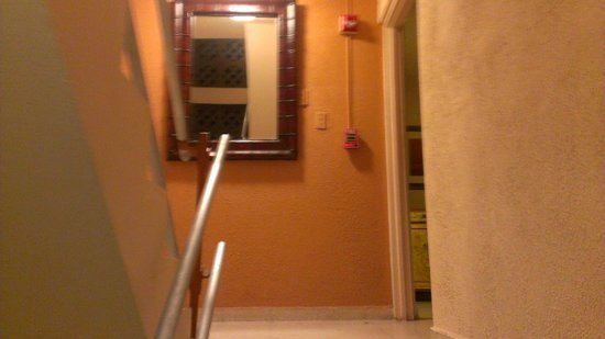 Oceana Hostal Playero : Walking up the stairs