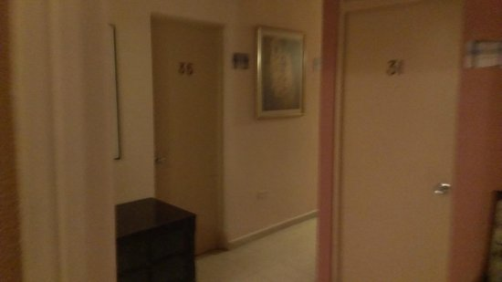 Oceana Hostal Playero: Hallway