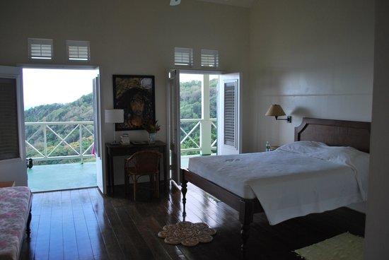 Beau Rive: Das Zimmer mit Sicht auf die Bucht