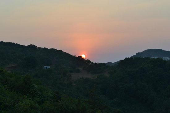 ذا ماتشان: A gorgeous sunset 