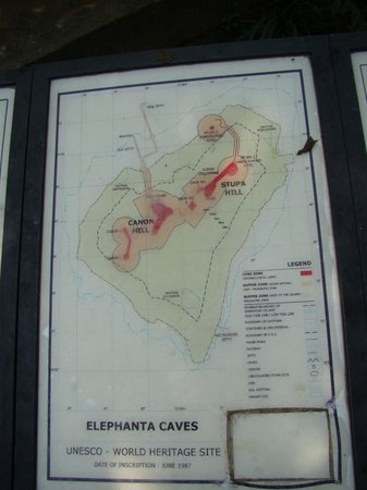 Elephanta Caves: Route Map