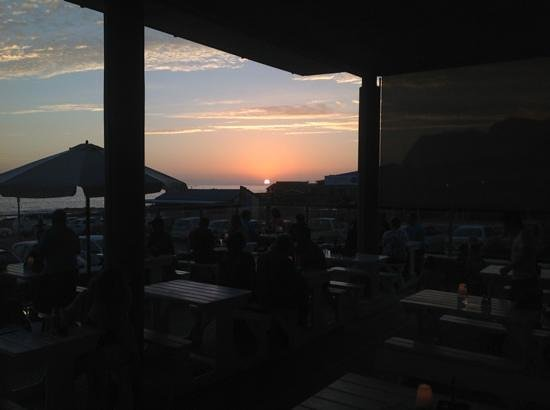 Europa Restaurant and Coffee Bar: Beautiful sunset