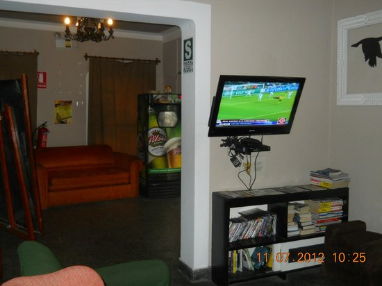 Enjoy Hostels : Sala de recreacion