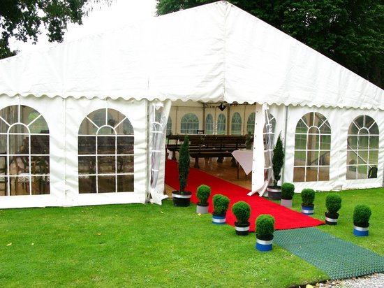 Wedding Marquee at Banchory Lodge Hotel