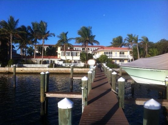 ‪‪Tortuga Beach Resort‬: View from the dock