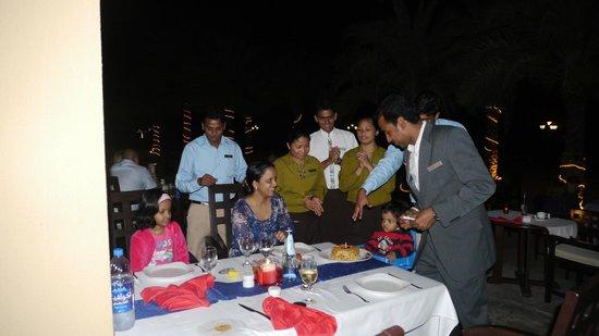 Pura Vida Restaurant : birthday celebration at pura vida