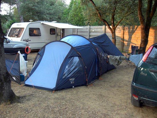 La Grainetiere Camping : Our pitch at the campsite
