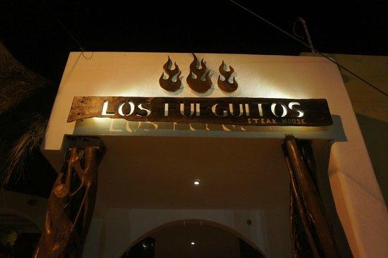 Los Fueguitos Steak House : Los Fueguitos on Isla Mujeres