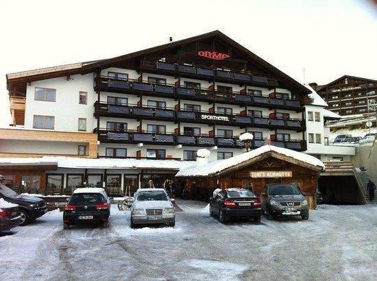 Olymp Hotel: Hotel