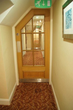 "The Marine Hotel: ""Hobbit-esque"" corridor door"