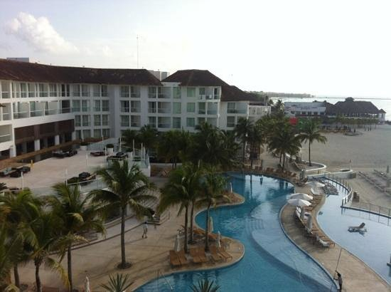 Playacar Palace: Vista do quarto