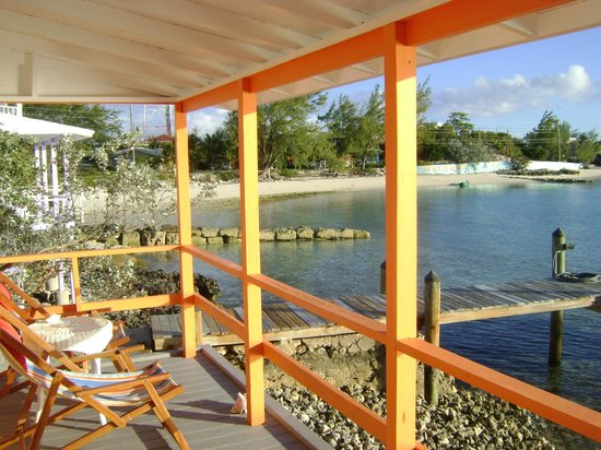 Staniel Cay Yacht Club: View from our cottage.
