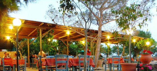Damnoni, Grecia: Taverna Violakis 1967