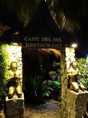 Cafe Del Sol Italian & Thai Restaurant : Restaurant