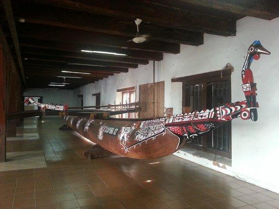 Maritime Museum (Museum Bahari): A traditional east Indonesian boat