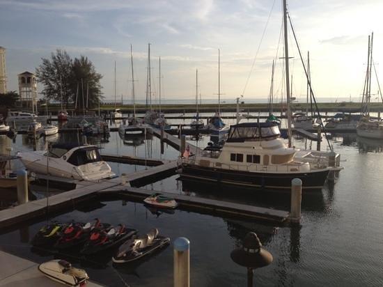 Avillion Admiral Cove: The dock