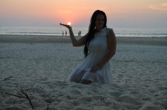 The Leela Goa: на пляже
