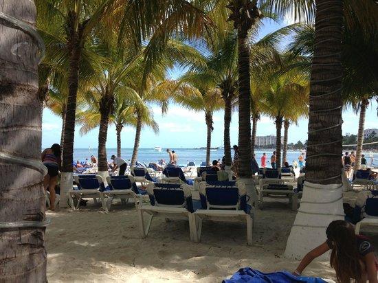 Occidental Costa Cancun: la plage
