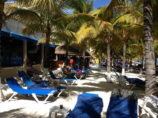 Occidental Costa Cancun: le bar de la plage