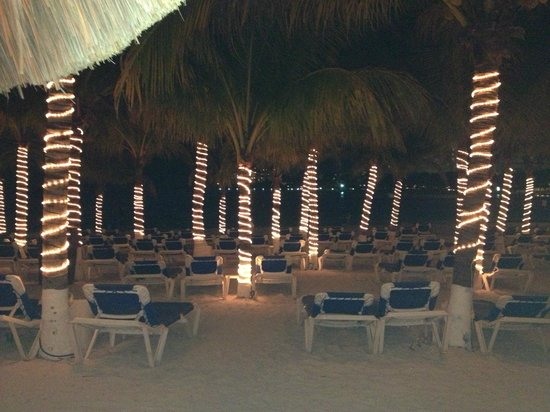 Occidental Costa Cancun: la plage le soir