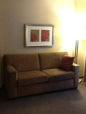 Hyatt Regency Deerfield: Sofa