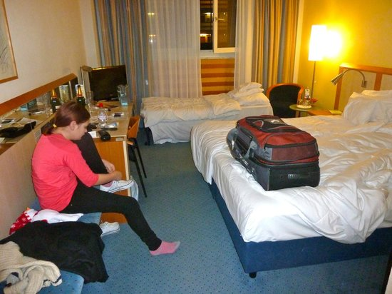 Lindner Hotel Dom Residence : Room 115...with an extra bed