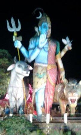 Chandrahasini Devi Temple: Ardh-Nareeswar