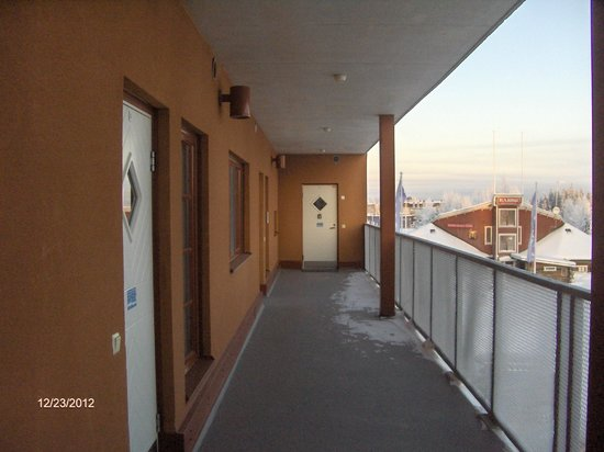 Apartments Tahtitahko: Corridor