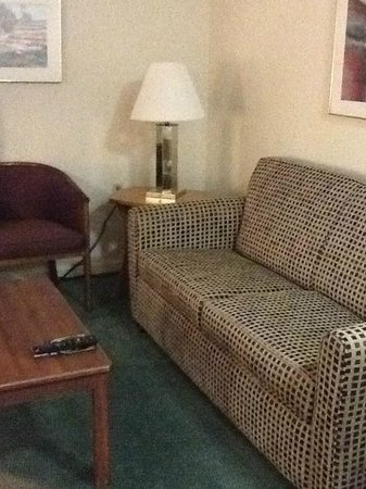 Extended Stay America - Des Moines - West Des Moines: Living Area