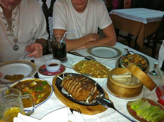 Taiwan City Restaurante: Mycket god mat!!!
