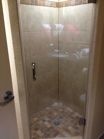 Rosen Centre Hotel: shower in VIP suite
