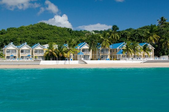 Villa Beach Cottages - View from the sea