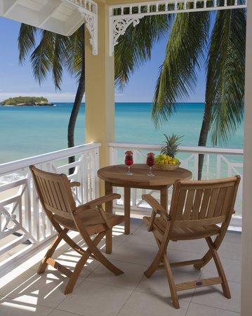 Villa Beach Cottages - Balcony