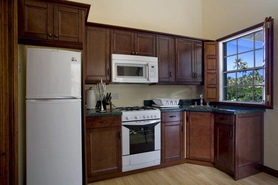 Villa Beach Cottages - Deluxe One Bedroom Villa Suite - Kitchen