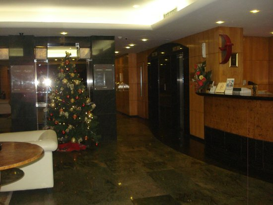 South American Copacabana Hotel: recepcion